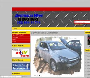 Australiawide Wreckers Website